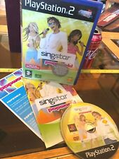 SINGSTAR POPWORLD SING STAR PS2 Playstation 2 Video Game E