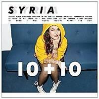 SYRIA - 10 + 10 BEST OF  CD POP-ROCK ITALIANA