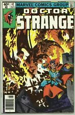 Marvel Comics Doctor Strange #42 1974 2nd Series Newsstand Edition FN/VF