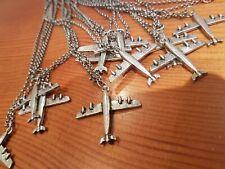Joblot Of 12 Aeroplane pendant Necklaces