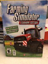 Farming Simulator Titanium WIN/MAC New Package Damaged