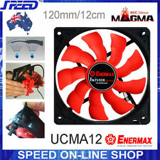 Enermax UCMA12 12cm Hi-Temp Cooling Fan Twister Bearing 100K hours works at 85C