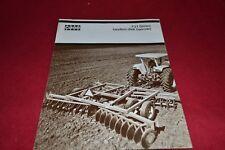 Case Tractor F21 Series Disk Harrow Dealer's Brochure YABE14
