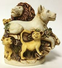 Retired Harmony Kingdom Royal Watch Club Behold The King Lion Box Figurine