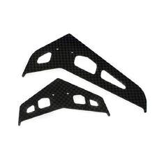 Blade Stab/Fin Set, Carbon Fiber: 300 X BLH4530C