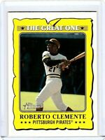 2021 Topps Heritage The Great One GO-14 Roberto Clemente - Pittsburgh Pirates