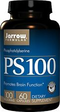 Jarrow Formulas PS100 Brain Function Support, 100 MG, 60 Capsules