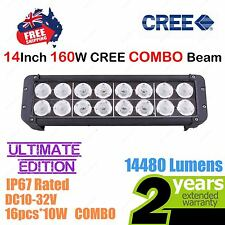 14inch 160W CREE LED Light Bar High Output Ultimate Edition Double Row COMBO