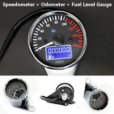 12V Motorcycle Backlight Odometer Speedometer Fuel Meter Gauge Multi-function
