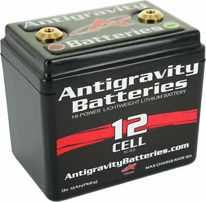 ANTIGRAVITY BATTERIES Small Case Battery 12-Cell 12V/360CCA/16Ah 1100CC Max