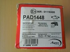 APEC PAD1448 REAR PADS,FITS SOME CADILLAC & FORD MODELS.