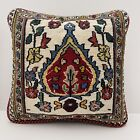 Authentic Kilim Rug Vintage Hand Made Throw Pillow Case Cover AF11