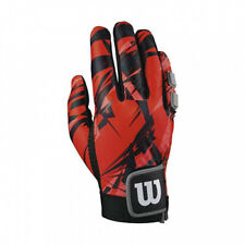 (Large, Red/Black) - Wilson Clutch Racquetball Right Hand Glove. Free Delivery