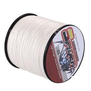 Spider 100M-2000M 10LB-300LB White 100%PE Dyneema Braided Fishing line