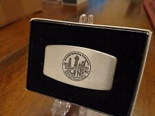 KENDALL OIL 100TH ANNIVERSARY ZIPPO KNIFE / NAIL FILE MINT IN BOX 1881-1981