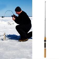 60CM Poche Hiver Ice Fishing Poisson Barre Mini Tackle Filage Fonderie Portable