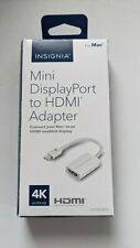 Insignia Mini DisplayPort-to-HDMI Adapter for Mac, NS-PD94592,White, New, Unused