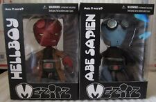 Mezco Toyz Hellboy II The Golden Army Mez-Itz Set w/Abe Sapien BRAND MISB!