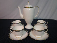 Wedgwood Coffee/Tea Service for 4. Ulander Black. 1965-01. Perfect.