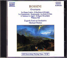 Rossini William Tell Cinderella Semiramide L 'italiana in emendamenti Halasz CD