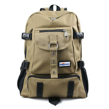 Male Backpack Arcuate Shouider Solid Bag Strap Zipper Casual Fashion New School