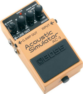 Used Boss AC-3 Acoustic Simulator Guitar Effects Pedal
