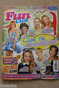 Fun Club 6/2015 Ross Lynch,Rowan Blanchard,R5, Violetta, Lucas i Riley