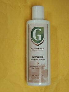 Guardian Surface Prep 8 Fl. Oz. Bottle, an Old Wax and Old Polish Remover