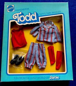 MOD Era Tutti Todd Doll 2188 Fashion for Todd Tutti's Twin Brother Rare!! NRFB