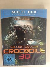 BluRay Million Dollar Crocodile Die Jagd beginnt 3D Multi Box