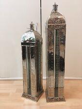 2 große Windlichter; Laternen; Orientalisch; Shabby Chic