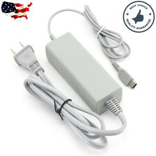 Wall AC Power Supply Charging Adapter Cable Cord For Nintendo Wii U GamePad USA