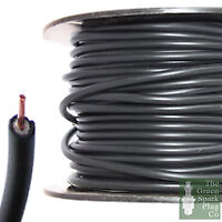 7mm HT Ignition Lead Cable - Copper Core PVC Black