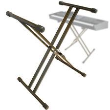 Keyboardständer Metall für Keyboard Piano Stagepiano höhenverstellbar Ständer