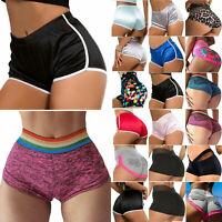 Damen Hotpants Gym Yoga Shorts Freizeithose Kurz Hose Radlerhose Shorts Hosen