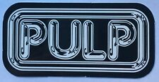 Pulp Music Band Logo Sticker Decal Vinyl Punk Pop Rock Brit-pop Car