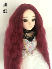 1* Centre Parting Hair Long Curly Wig for BJD Ball-jointed Doll SD Super Dollfie