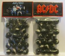 2 Bags Of AC / DC Rock Band Promo Marbles