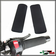 Strada 7 Anti-vibration Foam Comfort Grip Covers Triumph Bonneville SE T100 Blac