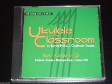 UKULELE IN THE CLASSROOM ~ Book 1 ~ Companion Learning CD ~  2008 NEW