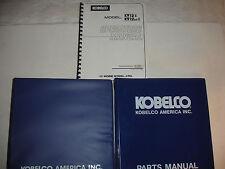 Kobelco K912-II K912LC K912 Excavator SHOP MANUAL & OP & PARTS Catalog Service