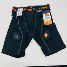 New listing Shock Doctor Men's Core Compression Hockey Shorts with Bio-Flex Cup Large