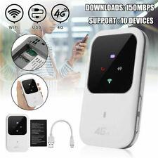 Unlocked 4G-LTE Mobile Broadband WiFi Wireless Router Portable Hotspot SIM Card