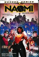NAOMI SEASON ONE HC REPS 1-6 New Sealed Hardcover DC Comics 2019