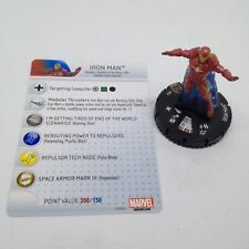 Heroclix Guardians of the Galaxy set Iron Man #055 Super Rare figure w/card!