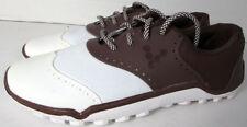 Vivobarefoot Hombre Linx Cordones Zapatos de Golf, Chocolate/Blanco, Us 8