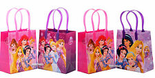 6 Pcs Disney Princess Authentic Licensed Small Party Favor Goodie Gift Bags