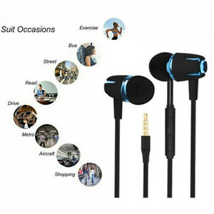 3.5mm In-Ear Earbuds Earphone Headphone headset for iPhone 6 PC MP3 MP4 UK