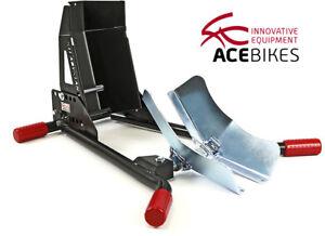 ACEBIKES Motorradständer Radhalter Wippe SteadyStand® Multi 15 bis 21 Zoll