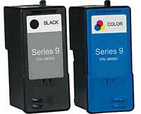 2PK Series 9 MK990 MK991 Black/Color Ink For Dell 926 v305 v305w v305x Printer
